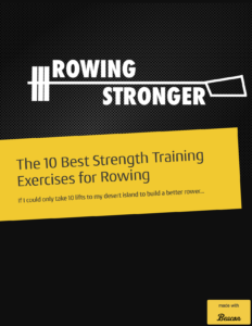 best strength training rowing