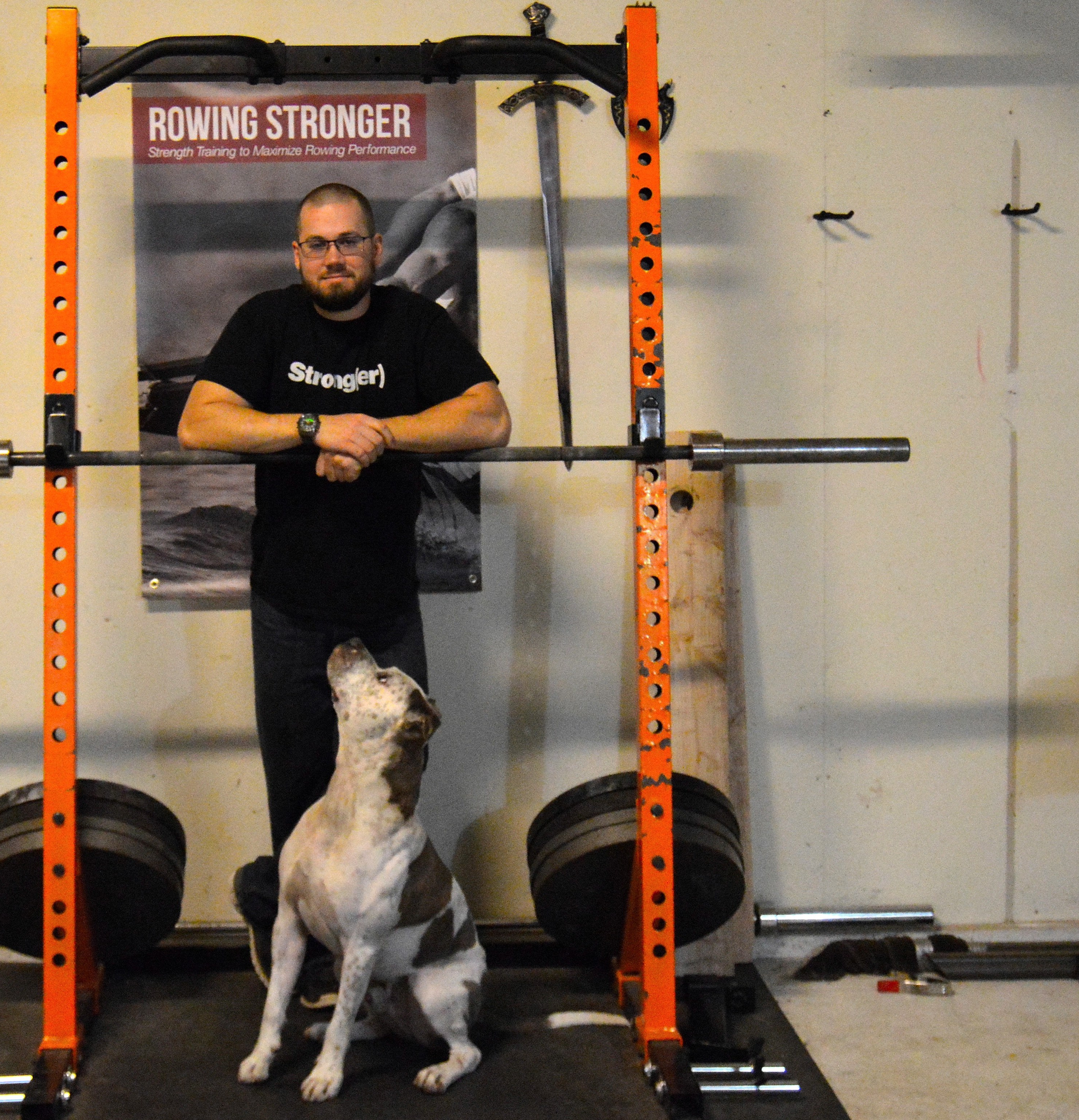 Building a home gym for rowing training rowing stronger